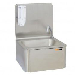 lave mains commande au genou