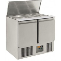 Comptoir réfrigéré saladette intégrée L900 eco