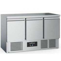 Table réfrigérée 3 portes 1400