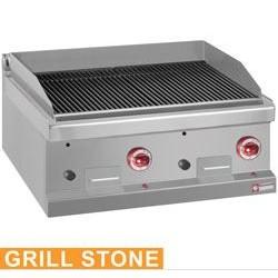 Grill pierre de lave gaz 800 à poser