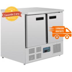 Comptoir réfrigéré 2 portes 240L