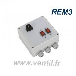Variateur 3a REM1 + lumière