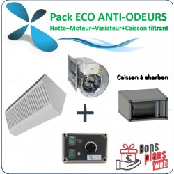 Pack éco compact anti-odeurs