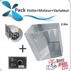 Pack puissance 2.5m