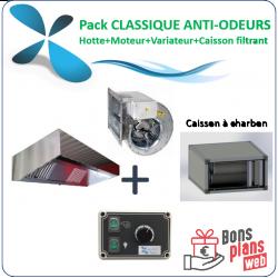 Pack classique anti odeurs