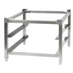 Support inox lave vaisselle deux niveaux L600xP600